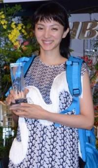「第40回 放送文化基金賞」贈呈式に出席した満島ひかり