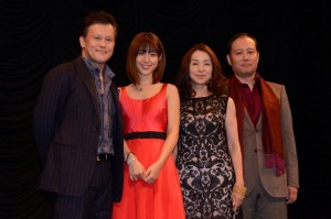 森田剛と共に出演する(左から)橋本じゅん、瀧本美織、原田美枝子、千葉哲也