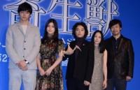 (左から)東出昌大、橋本愛、染谷将太、深津絵里、山崎貴監督