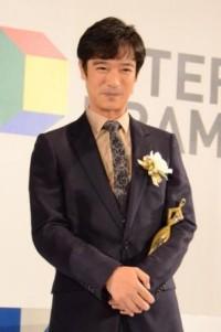 主演男優賞を受賞した堺雅人