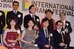 石原さとみをはじめ「東京ドラマアウォード 2014」受賞者
