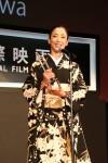 最優秀女優賞を受賞した宮沢りえ (C)2014 TIFF