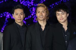 (左から)山下健二郎、橘ケンチ、白濱亜嵐