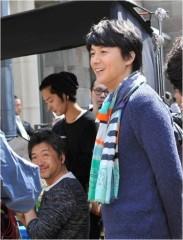 是枝裕和監督(左)と福山雅治