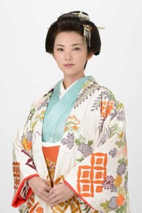 毛利元徳の正室、銀姫役の田中麗奈
