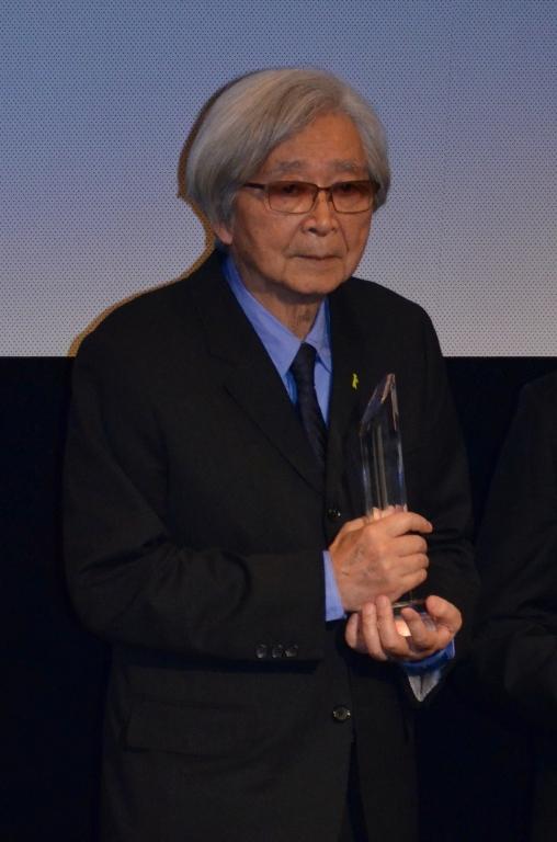 SAMURAI賞を受賞した山田洋次監督