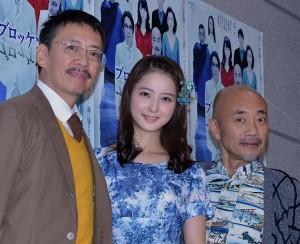 (左から)生瀬勝久、佐々木希、竹中直人