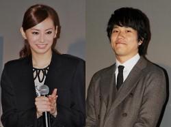 舞台あいさつ/ワールド・プレミアに登場した北川景子(左)と松山ケンイチ