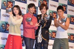 (左から)松岡茉優、井上聡、DAIGO、武井壮