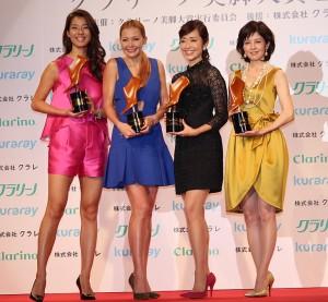 (左から)すみれ、土屋アンナ、早見優、沢口靖子