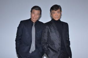 舘ひろし(左)と柴田恭兵
