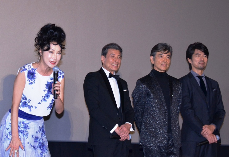 (左から)浅野温子、舘ひろし、柴田恭兵、仲村トオル