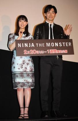 ディーン・フジオカ(右)と森川葵