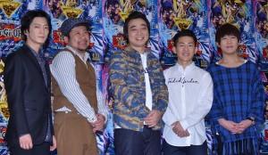 (左から)津田健次郎、ケンドーコバヤシ、ジャングルポケット