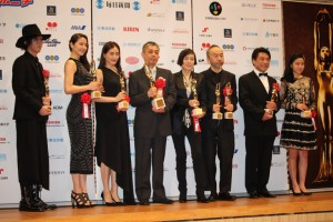 毎日映画コンクールの各受賞者たち
