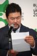 妻の北斗晶の手紙を代読する佐々木健介