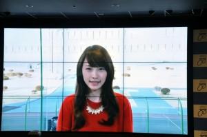 ビデオレターで登場した川栄李奈