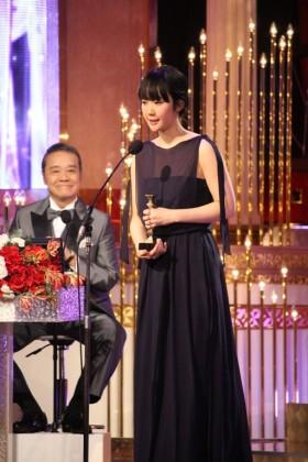 『母と暮せば』で最優秀助演女優賞を受賞した黒木華