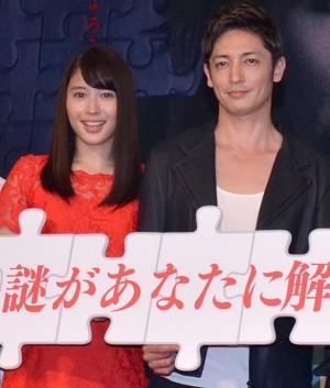 広瀬アリス(左)と玉木宏