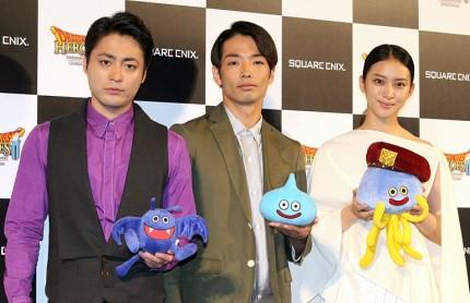 (左から)山田孝之、森山未來、武井咲