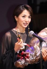 助演女優賞を受賞した満島ひかり