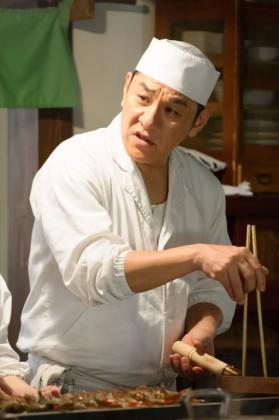 森田宗吉役のピエール瀧