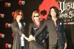 (左から)SUGIZO、YOSHIKI、TAKURO