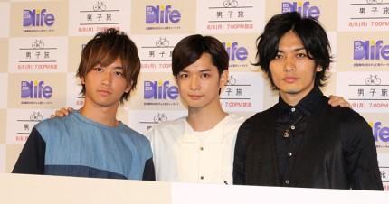 (左から)磯崎亮太、千葉雄大、久保田悠来