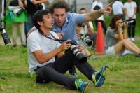 スポーツ写真撮影のコツをアダム・プリティ氏から聞く為末大氏