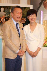 池上彰氏(左)と有働由美子アナウンサー