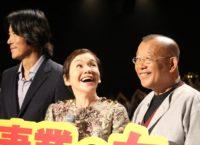 (左から)豊川悦司、大竹しのぶ、笑福亭鶴瓶