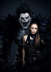 映画『デスノートLNW』安室奈美恵が主題歌&劇中歌を担当! リュークとのコラボビジュアル公開 画像1