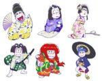 「おそ松さん×歌舞伎」コラボが実現! 6つ子が華麗な衣裳を身にまとって登場 画像1