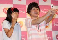 ギネス世界記録に挑戦したNONSTYLEの井上裕介(右)と参加者