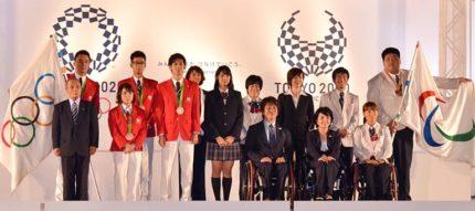 TOKIOとともにイベントに出席しオリンピアン・パラリンピアンの面々