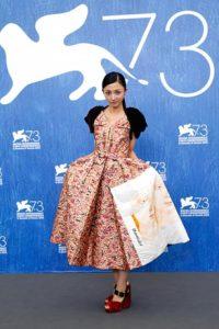 満島ひかり『愚行録』初の【ベネチア国際映画祭】PRADAのドレス姿で登場 画像1