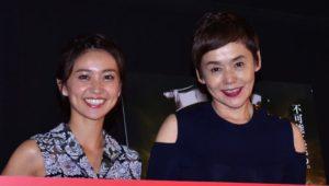 イベントに出席した(左から)大島優子、大竹しのぶ