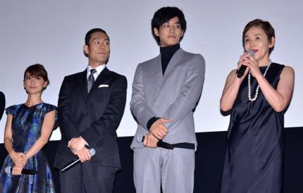中村勘九郎、松坂桃李、大島優子をはじめキャスト陣が勢ぞろいした