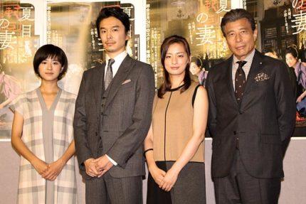 (左から)黒島結菜、長谷川博己、尾野真千子、舘ひろし