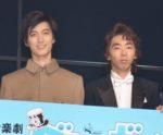 真田佑馬と3人でダニーボーイズを構成する水田航生(左)と柄本時生