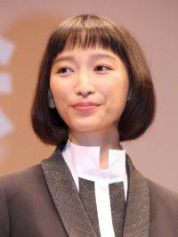 映画『オケ老人!』のプレミア試写会舞台あいさつに出席した杏(10月26日)