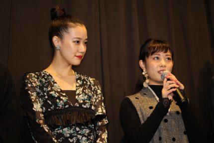 蒼井優(左)と高畑充希