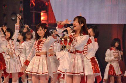 紅白リハーサルに登場したAKB48