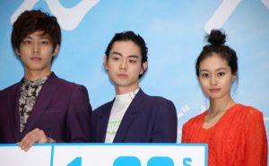 (左から)松坂桃李、菅田将暉、忽那汐里