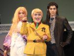 (左から)マライヒ役の佐奈宏紀、加藤諒、バンコラン役の青木玄徳