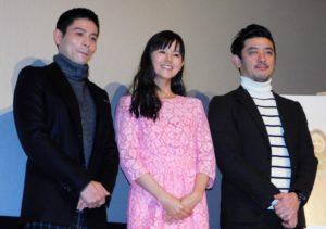 (左から)吉沢悠、小西真奈美、榊英雄監督