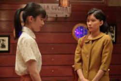 「ぺっぴんさん」で母娘役を演じる井頭愛海(左)と芳根京子