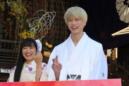 miwa(左)と坂口健太郎