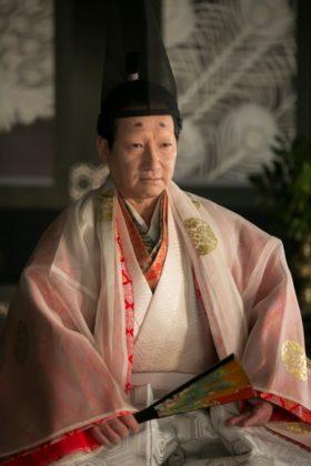 今川義元役の春風亭昇太