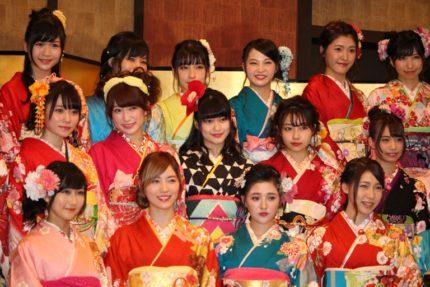 成人式を迎えたAKB48グループのメンバーたち